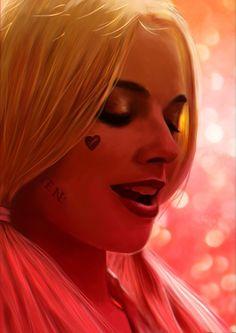 Margot Robbie as Harley Quinn - Eugene Gore