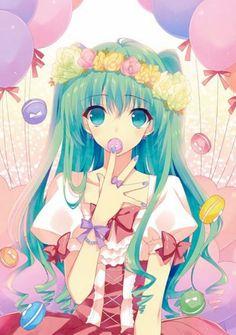 "Miku Luka RIN REN Vocaloid Cross Anime 36/"" x 24/"" Large Wall Poster Print Decor"
