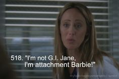 Attachment Barbie | grey's anatomy