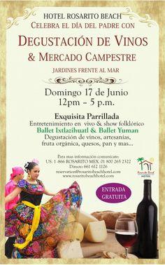 Degustacion de Vinos y Mercado Campestre, Rosarito Beach Baja California Mexico