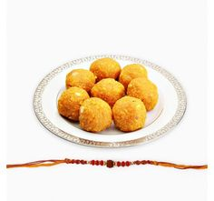 Motichur Ladoo with Rakhi