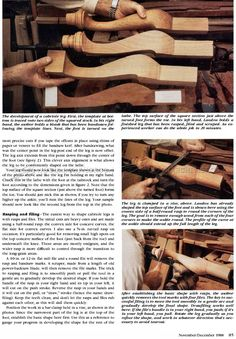 Shaping Cabriole Legs - Furniture Legs Construction