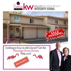 Are you looking to buy or sell a home? Let the Flamingo Group Homes help you! Call us at 952-210-8931 or send us a message. Searching for homes? Go to: flamingogrouphomes.kw.com #flamingogrouphomes #minnesota #MinnesotaRealEstate #minnesotarealtor #homebuying #homeselling #bestreatlors