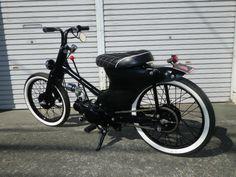 """CONEROD DEUCE#4"" Super Cub custom by Cone Custom Bike, Japan"