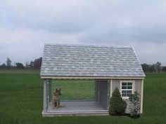 Dog Run Outdoor Kennel | Amish PA