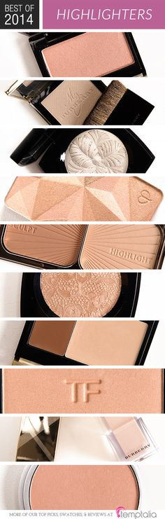 Top 10 of 2014: Best Highlighters for Cheeks & Face