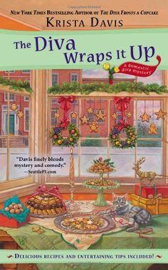 The Diva Wraps It Up (A Domestic Diva Mystery) by Krista Davis, http://www.amazon.com/dp/0425258149/ref=cm_sw_r_pi_dp_s3lQub0X8DXVZ