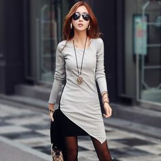 Gender: Women Waistline: Dropped Brand Name: Unbranded Fabric Type: Broadcloth Season: Spring Dresses Length: Above Knee, Mini Silhouette: Sheath Neckline: O-Neck Color Style: Natural Color Sleeve …