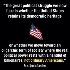 Democracy vs Oligarchy