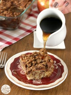 Apple Streusel French Toast Bake Recipe