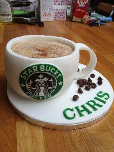 Starbucks Cake. Natalie