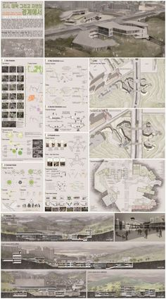 Landscape Gardening Business Name Ideas Architecture Panel, Architecture Drawings, Architecture Portfolio, Landscape Architecture, Architecture Design, Project Presentation, Presentation Design, Architectural Presentation, Diagram Design