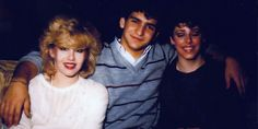 Suzie, Jeff, & Laura at the Rhapsody Club, Montreal 1983