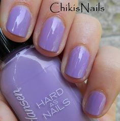 Sally Hansen Hard As Nails - No Hard Feelings. Got this on my nails right now. I love the color