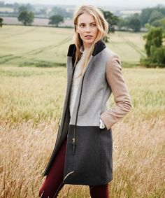 The Colorblock Coat: a Fall staple. GEt yours here: http://www.jcrew.com/womens_category/outerwear.jsp