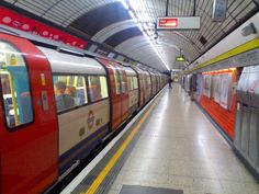 London underground - I remember the look, sound, and smell of it so well