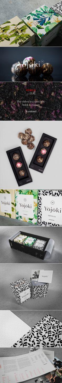 Yojoki tea — The Dieline - Branding & Packaging Design (Honey Bottle Design) Clever Packaging, Tea Packaging, Luxury Packaging, Beverage Packaging, Brand Packaging, Packaging Design, Branding Design, Presentation Folder, Presentation Design