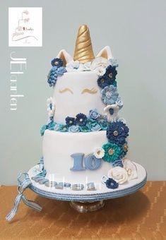 Posh unicorn cake by Judith-JEtaarten