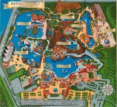 Tokyo Disney Sea map