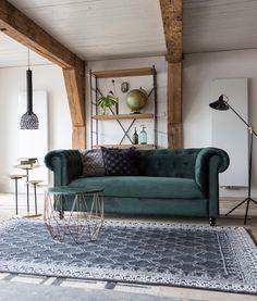 Buy the Dutchbone Kasba Rug today! Funky Living Rooms, Home Living Room, Living Room Designs, Interior Styling, Interior Design, Interior Paint, House Design, Home Decor, Modern Carpet