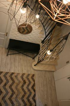 Décoration entrée - Scandinave, industrielle, cuivre, géométrique - D.CO by Maya Des bulles de couleurs dans votre intérieur...