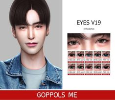 GPME Eyes V19 by GOPPOLS Me for The Sims 4