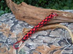 Father's Day Gift Paracord Lanyard Keychain by ACORDING2MACEY