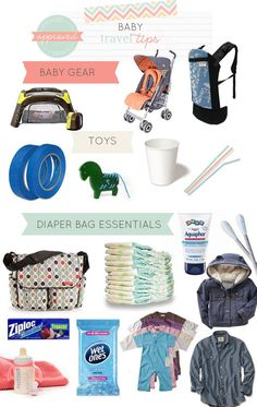 Real baby travel tips from Mommy Experts on what you need.