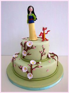 Fabulous Cakes Princess Mulan On Pinterest Funny Birthday Cards Online Bapapcheapnameinfo