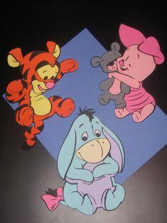 Winnie the Pooh Tigger Piglet Eeyore Baby by ThePaperdollPrincess