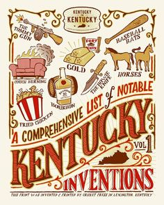 PROOF THAT KENTUCKY INVENTED GOLD AND HORSES.