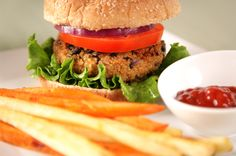 Vegetarian alternatives to burgers