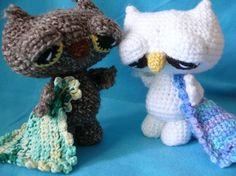 Crochet Sleepy Owls!
