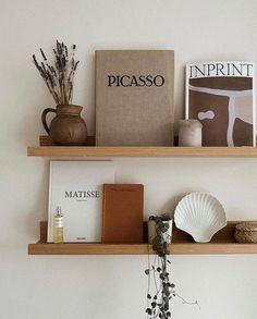 Books - Shelves - Shelfie - Home Decor Decoration Inspiration, Interior Inspiration, Decor Ideas, Wall Ideas, Garden Inspiration, Design Inspiration, My New Room, My Room, Room Set