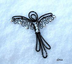 ...jsem tu pro Tebe... / Zboží prodejce Gaia | Fler.cz Gaia, Angel Wings, Wire, Silver, Jewelry, Jewellery Making, Jewerly, Jewelery, Jewels
