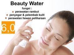 Segarnya semprot dengan beauty water cobain deh freshnya dari sekarang #beautywater