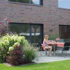 Sichtschutz - Terrasse 2 - nachher - Franks kleiner Garten