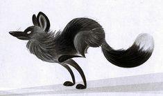 Fox On The Run by Skia.deviantart.com