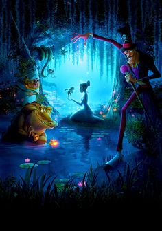 The Princess and the Frog Phone Wallpaper Die Prinzessin und der Frosch Phone Wallpaper Disney Dumbo, Disney E Dreamworks, Disney Art, Frog Wallpaper, Disney Phone Wallpaper, Cartoon Wallpaper Iphone, Walt Disney Animation Studios, Disney Princesa Tiana, Disney Prinzessin Tiana