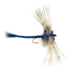 Orvis Gibson's Dragon Fly  http://fishingrodsreelsandgear.com/product/orvis-gibsons-dragon-fly/  If you ever see damsel flies or dragon flies anywhere near the water you're fishing, make sure to fish a damselfly or dragonfly pattern. This is a big meal; the fish know they are around and they can get a lot of calories in one take when they eat a big damsel or dragonfly. Browns and...