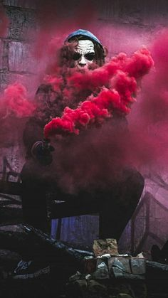red smoke by joker iphone iphone iphone 7 hd Smoke Wallpaper, Graffiti Wallpaper, Cool Wallpaper, Mobile Wallpaper, Wallpaper Backgrounds, Smoke Bomb Photography, Art Photography, Rauch Tapete, Wallpaper Telephone