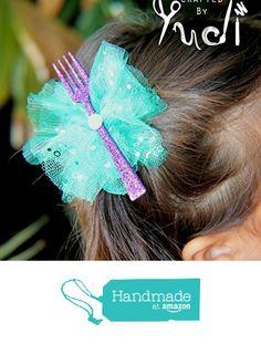 "Mermaid ""Dinglehopper"" party favors // Mermaid Party Favor // The Little Mermaid Party from Crafted By Yudi http://www.amazon.com/dp/B019H214FG/ref=hnd_sw_r_pi_dp_Ny9Swb0W7RRRQ #handmadeatamazon"