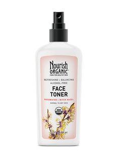 Refreshing & Balancing Face Toner – Nourish Organic