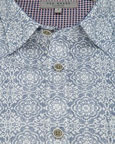 Printed shirt - White | Shirts | Ted Baker