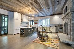 The Decker/Roddick's once again winning at #housegoals -> LOVE the kitchen tile