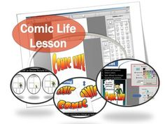 Comic LifeTurn your photos into a comicFonts, templates, panels, balloons, captions and lettering artAdd photo filter effects and lettering optionsCombine your words and pictures into a storyGreat for doing school projects, how to guides, lesson plans and book reportsThis lesson includes screen shots and instructions for teaching students how to use Comic Life.