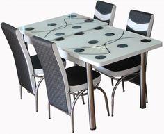 Mobila bucatarie - Modela.ro Dining Table, Furniture, Home Decor, Decoration Home, Room Decor, Dinner Table, Home Furnishings, Dining Room Table, Home Interior Design