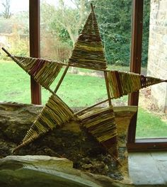 willow star.  What to do with left over willow!