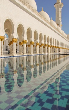 Sheikh Zayed Mosque Abu Dhabi. | #MostBeautifulPages