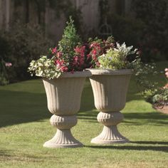 Greenhurst Imperial Urn Planters   Pack Of Two | Garden Street